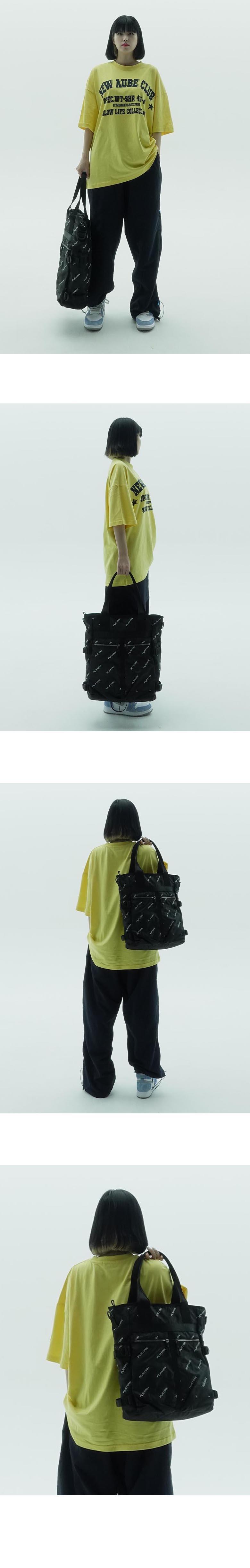 Camo tote bag_카모 토트백(PT01MBLK)
