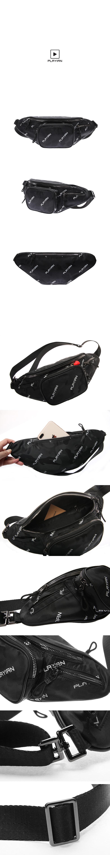camo waist bag_카모 웨이스트백(PW01UBLK)