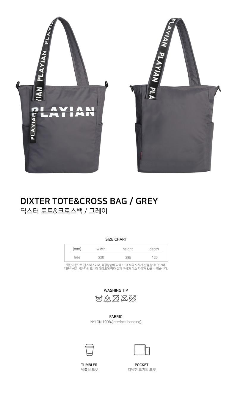 Dixter tote&cross bag_딕스터 토트&크로스백(ET03UGRY)