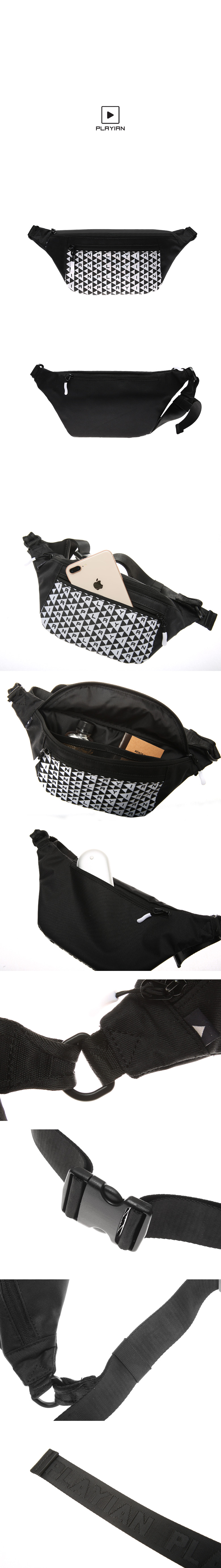 Gred waist bag_그리드 웨이스트백(PW02UWHA)